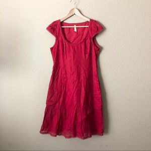 Anthropologie Maeve cap sleeve dress